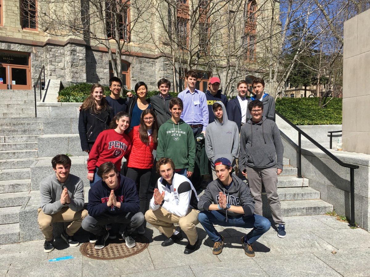 Model Congress Students Thrive at UPenn